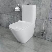 Stand-WC-Kombination randlos KB6093B